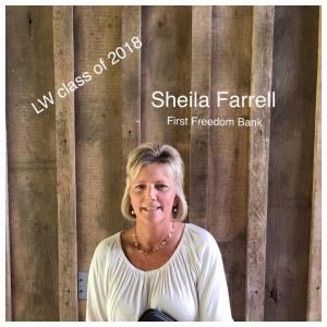 Sheila Farrel   First Freedom Bank