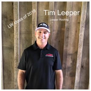 Tim Leeper   Leeper Roofing